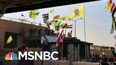 Rocket Strikes Land In Baghdad, No Injuries Reported | MSNBC 6
