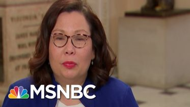 Tammy Duckworth: Even Trump's Lawyers Made The Case For Witnesses | Rachel Maddow | MSNBC 6