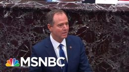 Adam Schiff Says Russia Intel Being Withheld From Impeachment Probe   Rachel Maddow   MSNBC 1