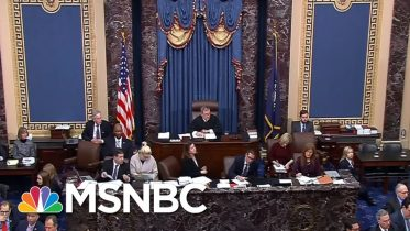 Day 1,105: Senators Finally Get Their Say In The Trump Impeachment Trial | The 11th Hour | MSNBC 10