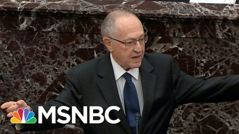 Dershowitz: Anything Trump Did To Win Re-Election Is In The Public Interest - Day That Was | MSNBC 1