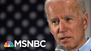 Joe Biden, Bernie Sanders Statistically Tied In Iowa, Polling Shows | Morning Joe | MSNBC 6