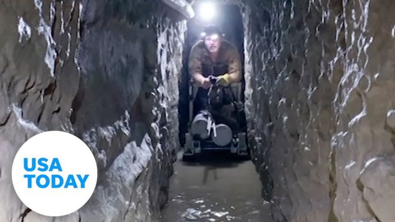Drug tunnel in San Diego discovered along Southwest border | USA TODAY 1