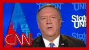 Mike Pompeo defends President Trump's tweet threatening Iranian sites 2