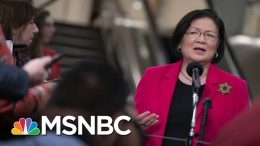 Senator Mazie Hirono: President Donald Trump Believes He's King Now | The 11th Hour | MSNBC 3