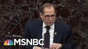 Fight For The Mic? Nadler And Schiff Scramble To Answer Impeachment Question | The 11th Hour | MSNBC 3