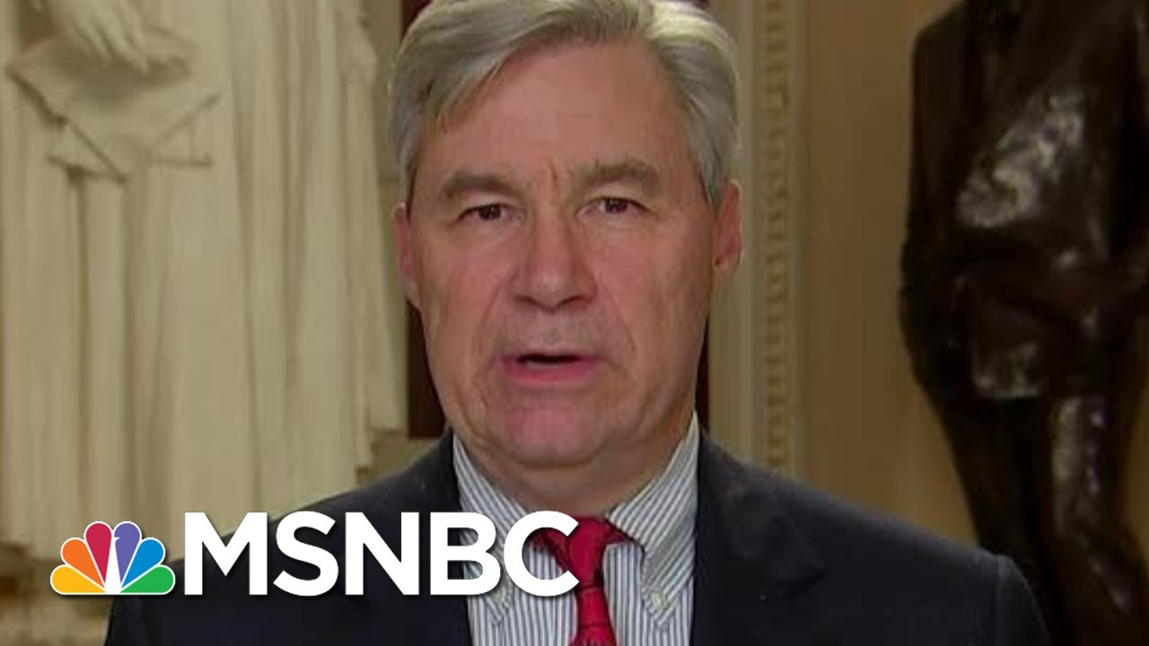 Fear Of Trump, McConnell, Base Keeps Republicans In Line: Whitehouse | Rachel Maddow | MSNBC 1