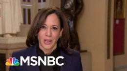 Kamala Harris On Trump's Impeachment: You Can't Have Acquittal If There Is No Fair Trial | MSNBC 1