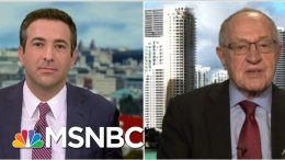 'Radical': See Alan Dershowitz Respond To Criticism From White House Lawyers | MSNBC 8