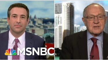 'Radical': See Alan Dershowitz Respond To Criticism From White House Lawyers | MSNBC 6
