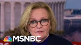 'It's A Travesty, It's Disgusting': McCaskill Remarks On Refusal To Call Witnesses | MSNBC 3