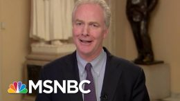 'Disgrace:' Sen. Van Hollen On GOP Vote To Block Witnesses | All In | MSNBC 3