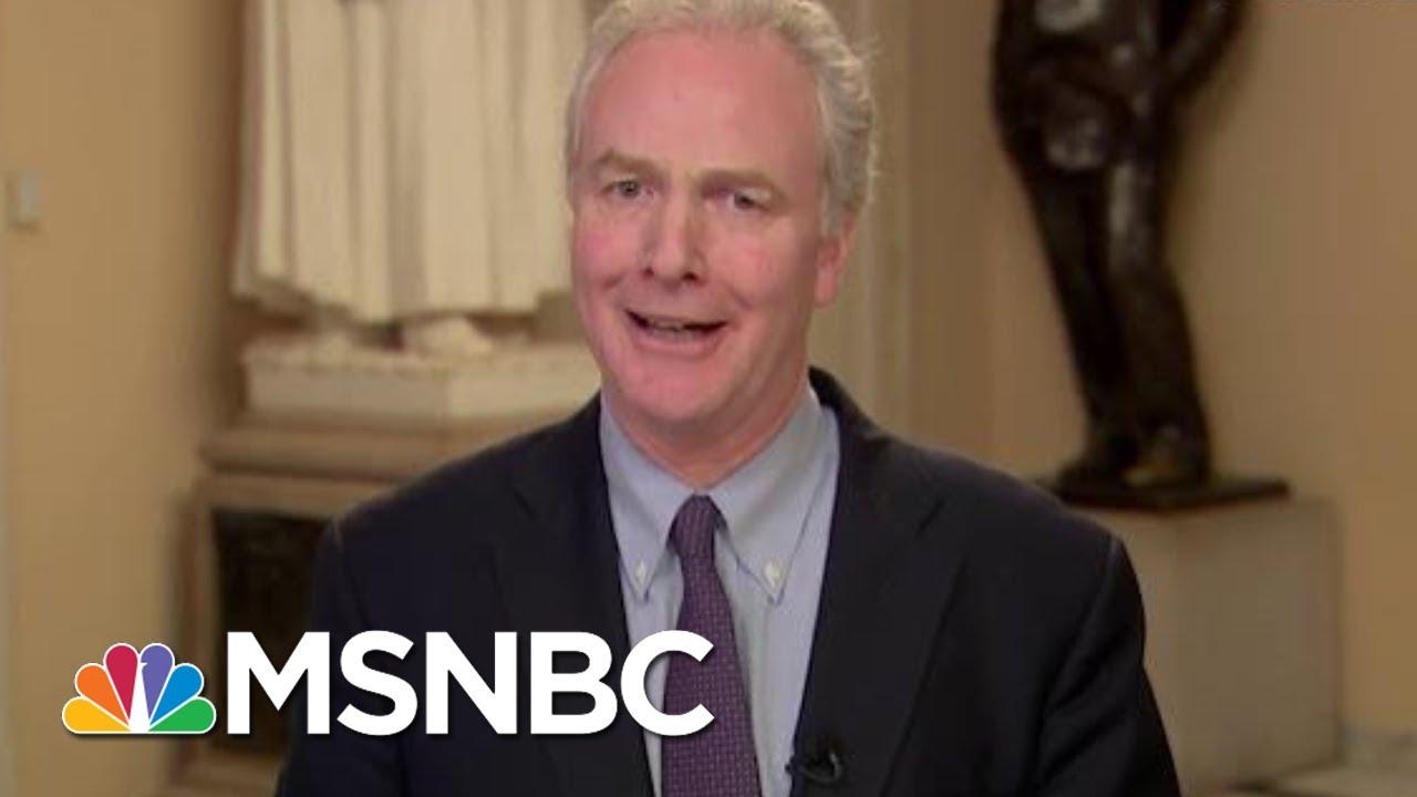 'Disgrace:' Sen. Van Hollen On GOP Vote To Block Witnesses | All In | MSNBC 6