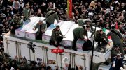 Large crowds gather to mourn top Iranian general Qassam Soleimani 5
