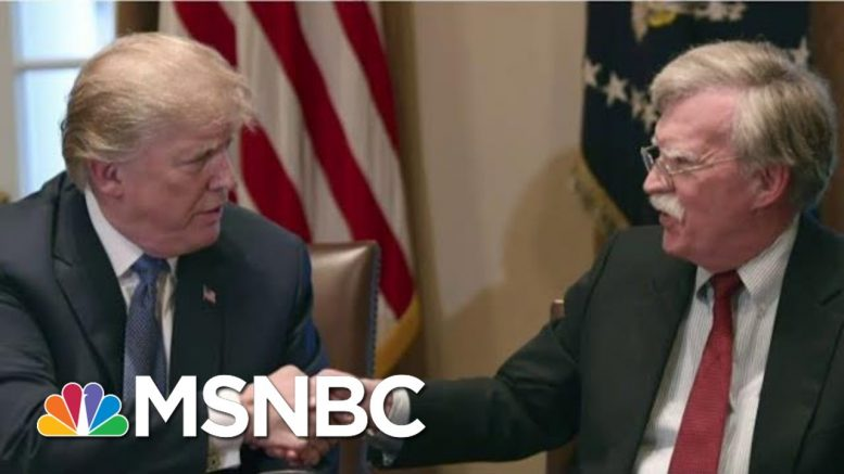 Bolton Willing To Testify In Trump Impeachment Trial If Subpoenaed | Craig Melvin | MSNBC 1