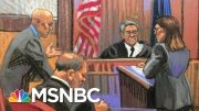 Harvey Weinstein Facing New Charges Of Rape, Sexual Assault In Los Angeles | Velshi & Ruhle | MSNBC 4