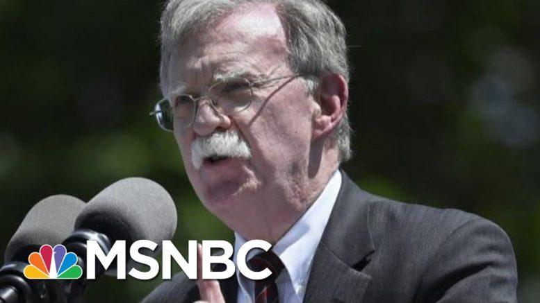 John Bolton Willing To Testify In The Impeachment Trial If Subpoenaed | Deadline | MSNBC 1