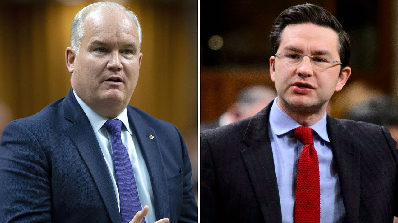 Pierre Poilievre and Erin O'Toole will run for Conservative leadership 8