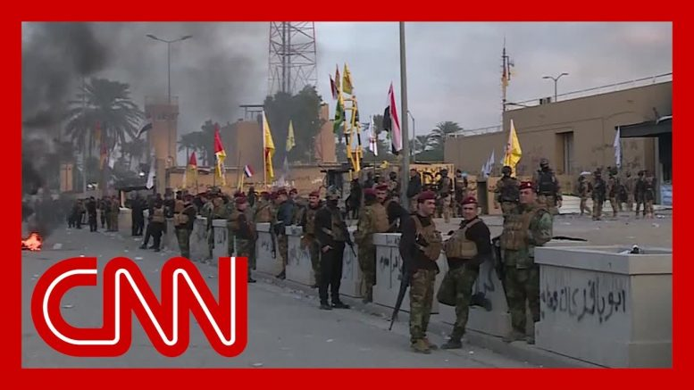 Attack on US embassy at the heart of Iraq's challenges 1