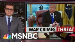 Chris Hayes On Our Pro-War Crimes President | All In | MSNBC 8