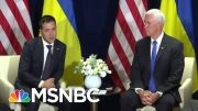 Internal Document Suggests Pence Role In Trump Ukraine Scandal | Rachel Maddow | MSNBC 5
