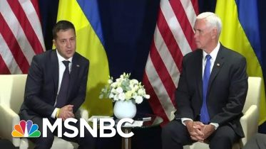 Internal Document Suggests Pence Role In Trump Ukraine Scandal | Rachel Maddow | MSNBC 6