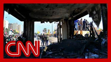New images of destruction inside US embassy in Baghdad 6