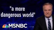 Lawrence: Bolton Did Worst Thing He Could To Trump | The Last Word | MSNBC 4