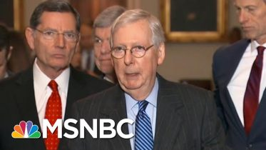 McConnell Rolls Out Trump Trial Plan Without Witnesses, Democrats Say It's A 'Cover-Up' | MSNBC 10