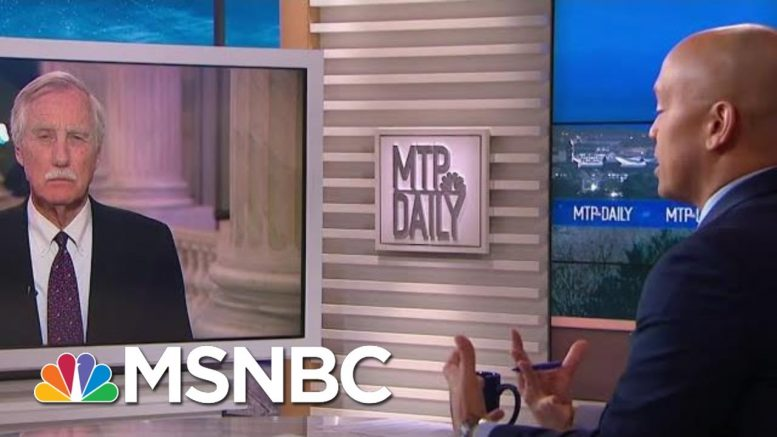 Sen. Angus King: Soleimani Strike 'Not Worth The Risk' | MTP Daily | MSNBC 1