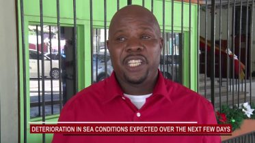 WEATHER OFFICIALS WARN OF HIGH SEAS IN THE NEXT FEW DAYS 5