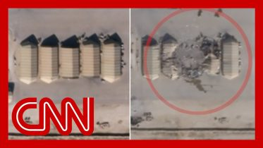 Satellite images appear to show damage from Iran missiles 6