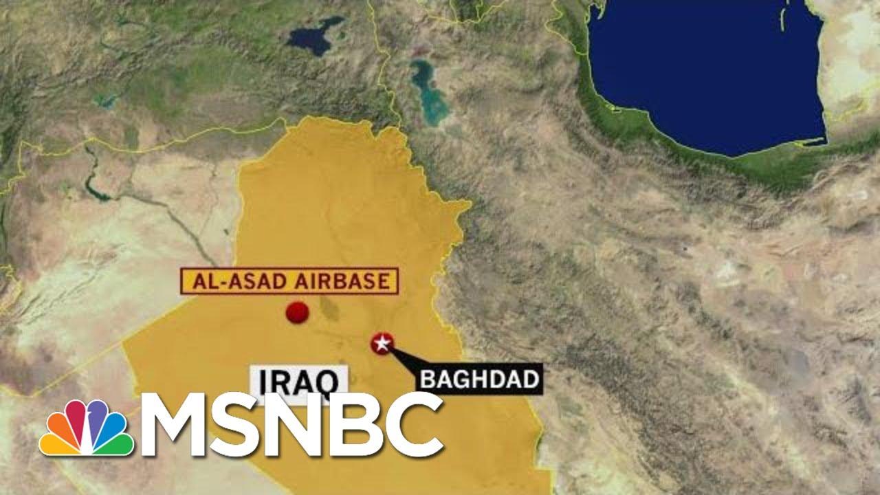 Rocket Attack On Iraqi Base Housing US Troops   Hardball   MSNBC 1