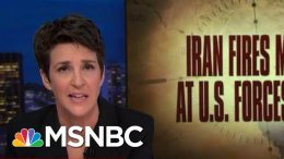 Journalism Crucial As Trump Flirts With War Without Credibility | Rachel Maddow | MSNBC 4