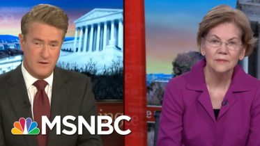 Sen. Elizabeth Warren: War Is Not Good For Anyone | Morning Joe | MSNBC 6