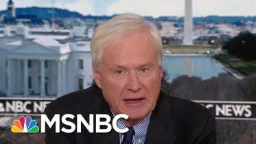 Chris Matthews Calls Trump's Speech 'Extraordinarily Partisan' During Crisis | Hardball | MSNBC 6