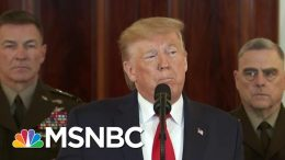 'Absolutely Insane': Trump Ally Blasts Trump, Dems Call Briefing A 'Joke' | MSNBC 6