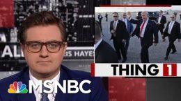 Trump Admin. Still Hiding The President's Travel Costs | All In | MSNBC 2