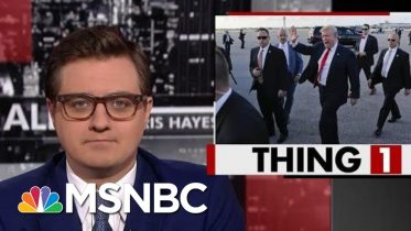 Trump Admin. Still Hiding The President's Travel Costs | All In | MSNBC 6