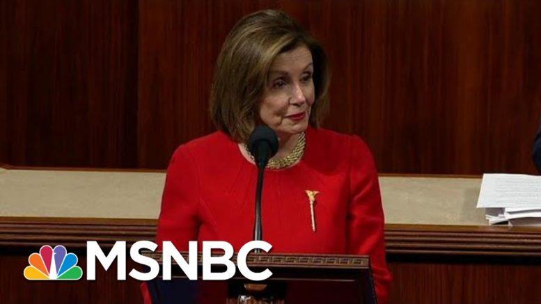 Speaker Nancy Pelosi Not Backing Down On Impeachment | The Last Word | MSNBC 1