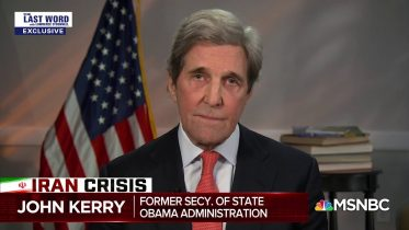 Kerry: Other Admins Considering Killing Soleimani, But Cost Too Great | The Last Word | MSNBC 6
