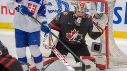 Canada clinches spot in World Junior semifinals with a 6-1 win over Slovakia 1
