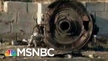 Plane Crash In Iran Shows Signs Of More Than Mechanical Failure   Rachel Maddow   MSNBC 6