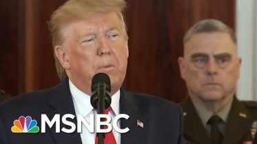 Rhodes On Trump's Claim Obama Funded Iran's Missiles: 'We're Better Than This' | Deadline | MSNBC 10