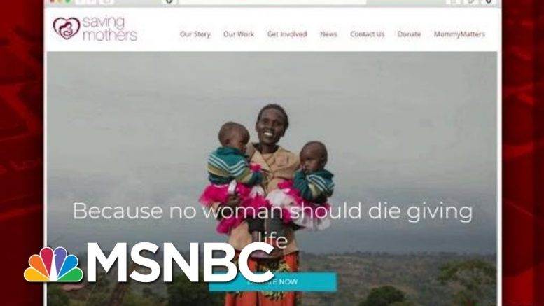 Report Addresses Fighting Maternal Mortality | Morning Joe | MSNBC 1