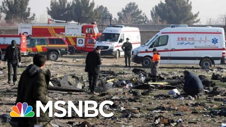 Ukrainian Jet That Crashed Shot By Iranian Missiles, Sources Say | Andrea Mitchell | MSNBC 1