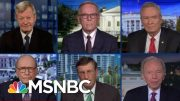 On Trump Trial, Sen. McConnell Gets Fact-Check By Six Of His Senate Colleagues At Once | MSNBC 3