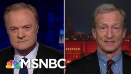What Tom Steyer Saw Early On About Impeaching Donald Trump | The Last Word | MSNBC 4