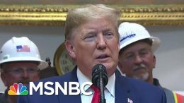 What Happens When Trump Goes Off Prompter | The Last Word | MSNBC 3