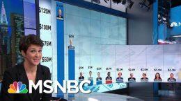 Bloomberg, Steyer Ad Spending Dwarfs Rest Of 2020 Field -By A Lot | Rachel Maddow | MSNBC 1